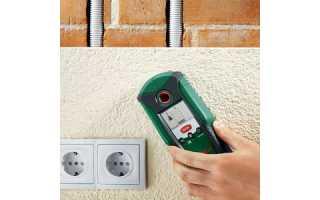 Как найти скрытую проводку в стене с помощью мультиметра