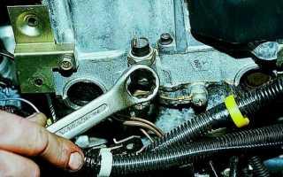 Датчик давления масла автомобиля ВАЗ 2110