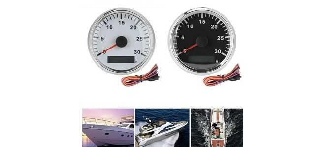 Выбор и установка тахометра для лодочного мотора