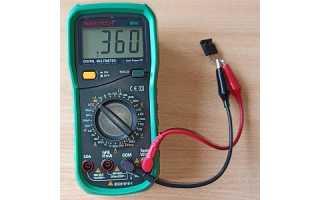 Как правильно проверить транзистор мультиметром