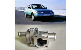 Как установить термостат от автомобиля Лада Гранта на ВАЗ-2110
