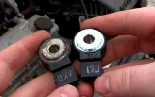 Датчик детонации автомобиля ВАЗ 2114
