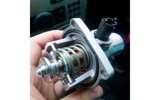 Замена термостата автомобиля Opel Astra H