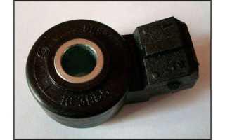 Датчик детонации автомобиля ВАЗ 2107 инжектор