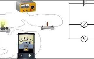 Как правильно подключить вольтметр