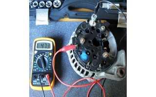 Как проверить генератор автомобиля ВАЗ-2107 мультиметром