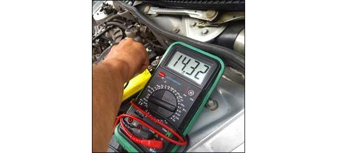Как быстро проверить зарядку генератора
