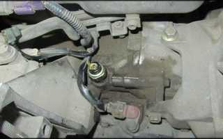 Датчик давления масла автомобиля Subaru