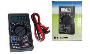 Подробно о мультиметре DT-830B