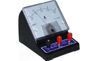 Что измеряет амперметр