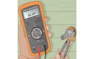 Как проверить любой потенциометр мультиметром