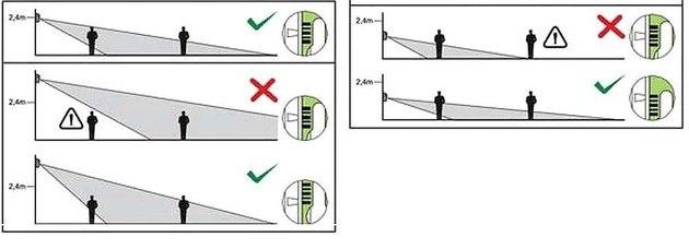 Настройка датчика движения 2