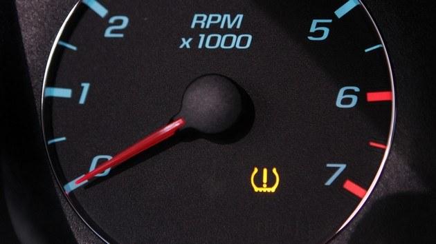 Значок давления в шинах