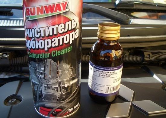 Очиститель ДМРВ 7