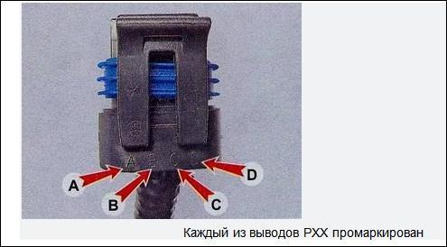 Определить в блоке электрокабелей провода датчика
