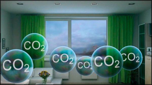 СО2 в воздухе
