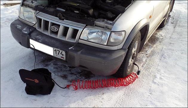 Как установить датчик давления в шинах автомобиля Kia Sportage