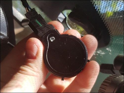 Основной компонент устройства, называемый «глазком»