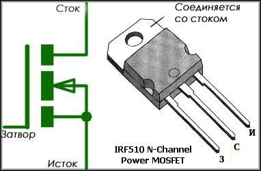 металлооксидный транзистор с полевым затвором