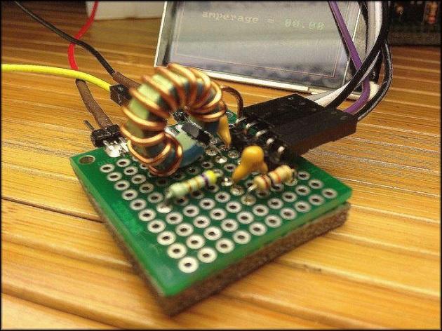 самодельный датчик тока
