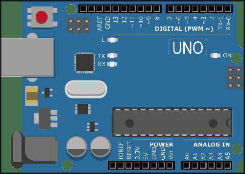 микроконтроллер Arduino UNO с портами