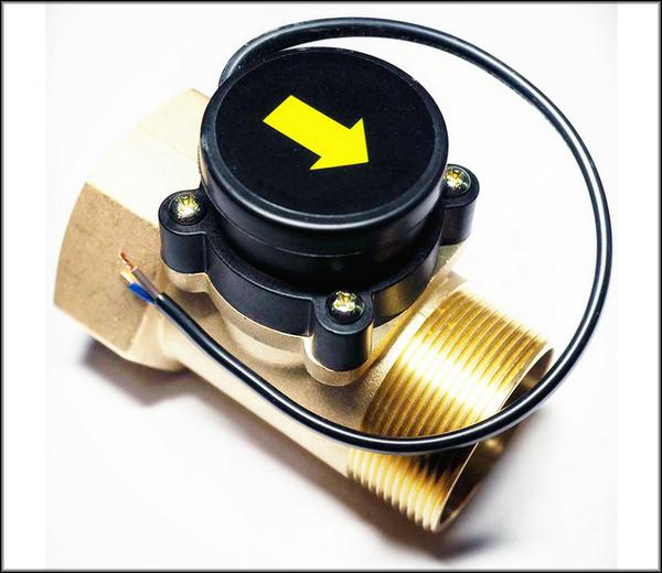 Датчик протока воды для газового котла