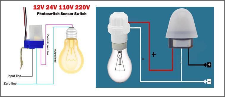 Комплекты автовключателей света с разными датчиками 3