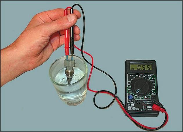 Проверка датчика температуры ВАЗ 2106