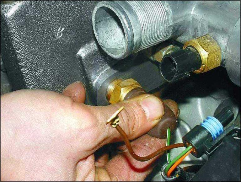 датчик включения вентилятора ваз инжектор