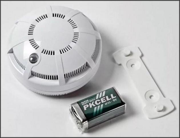 Беспроводной автономный пожарный датчик