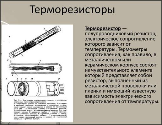 Термические резисторы