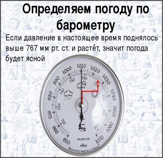 радиус действия барометра