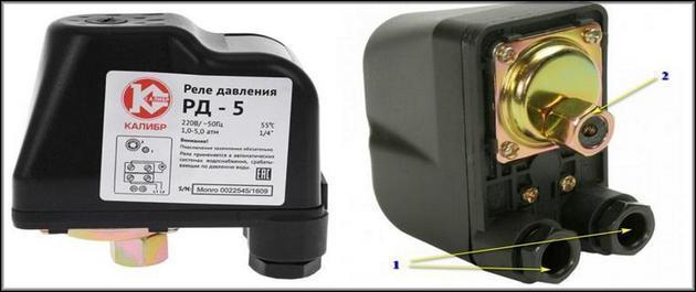 устройство механического датчика давления