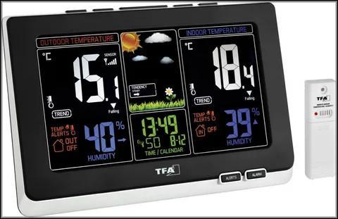 цифровая метеостанция с датчиком