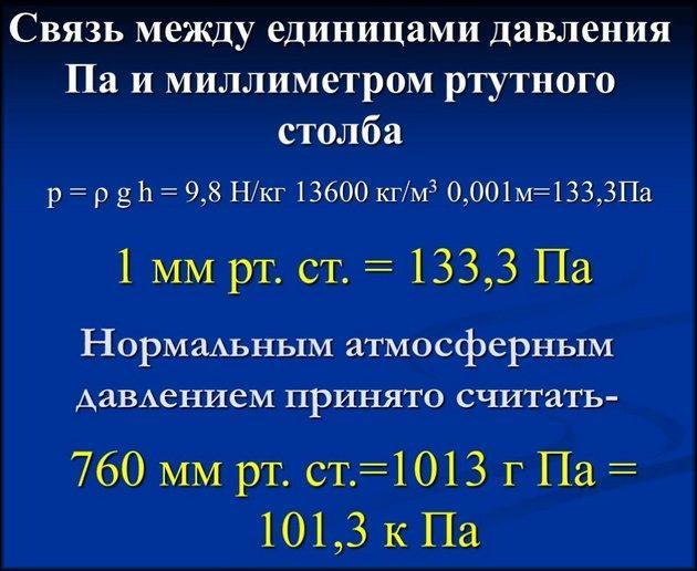 Единицы измерений