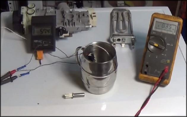 проверка термодатчика