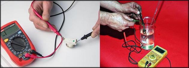 Проверка биметаллических термосенсоров