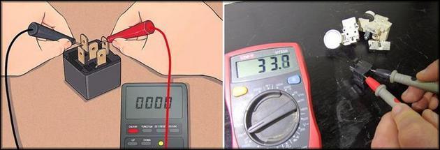 Проверка терморезистора