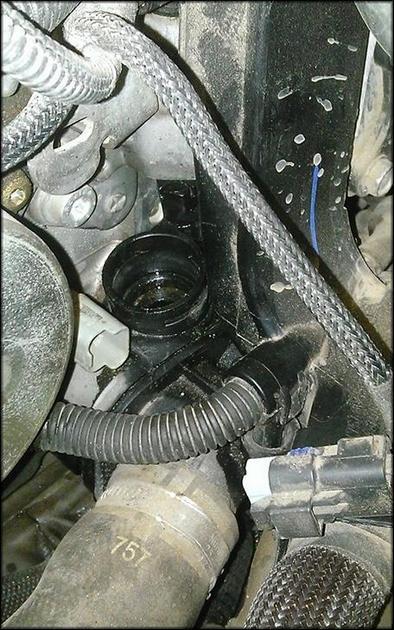 Датчик охлаждения в автомобиле
