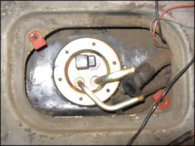 Ремонт датчика уровня топлива