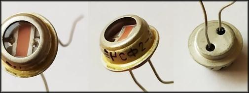 Устройство обычного фоторезистора