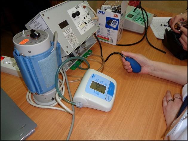 Проверка аппаратами-имитаторами давления