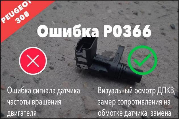 ошибка P0366