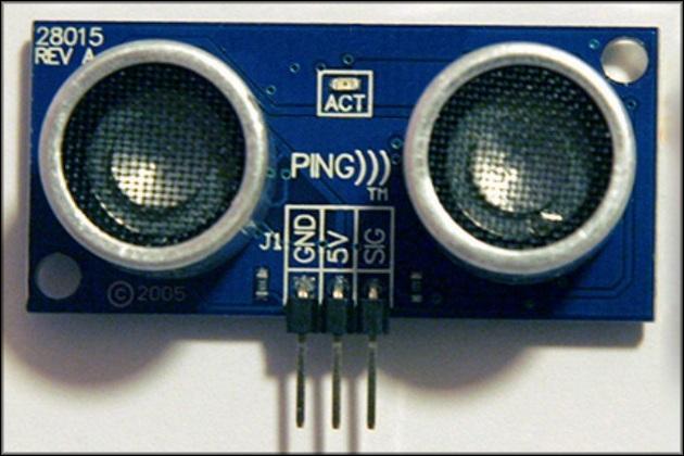 Трехпроводный Parallax PING