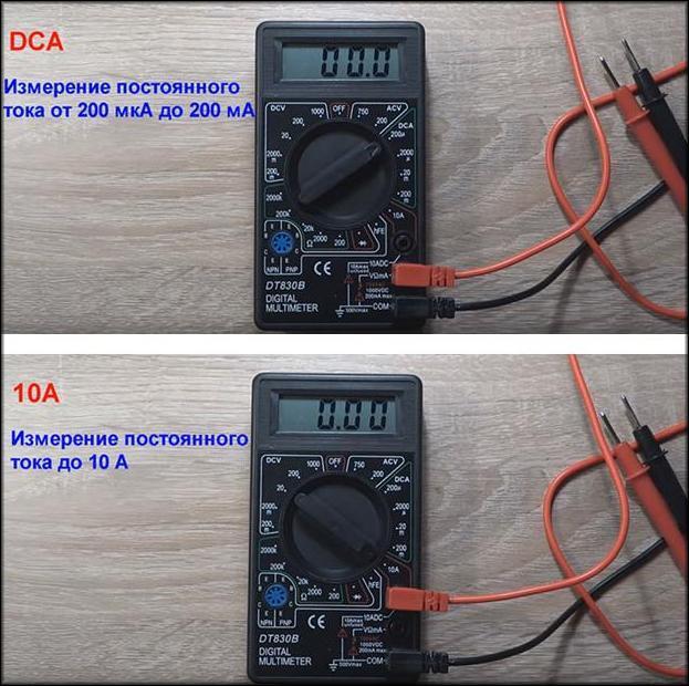 Особенности измерения постоянного тока