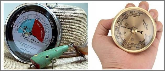 Барометры в виде часов