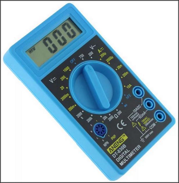 Синий мультиметр