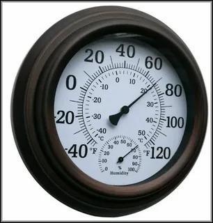 Механический бытовой градусник