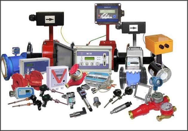 разные по технологии счетчики и их агрегаты
