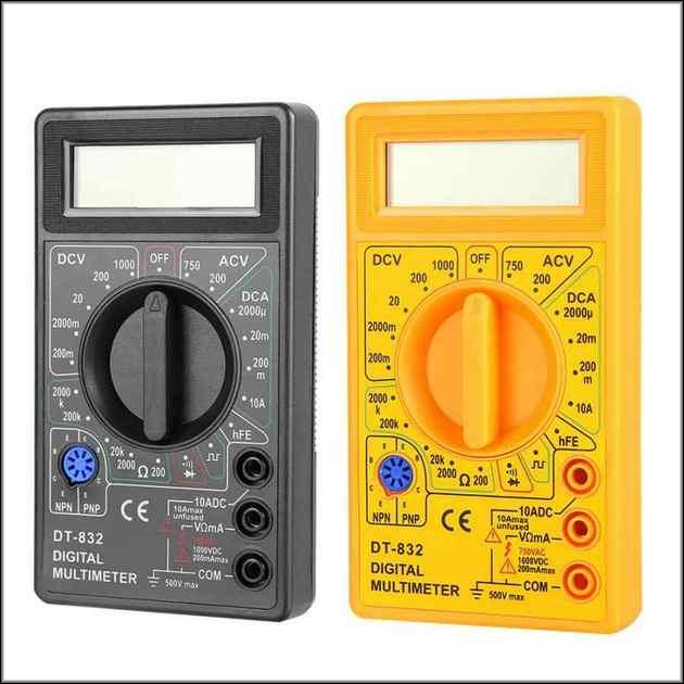 DT-832 желтый и черный